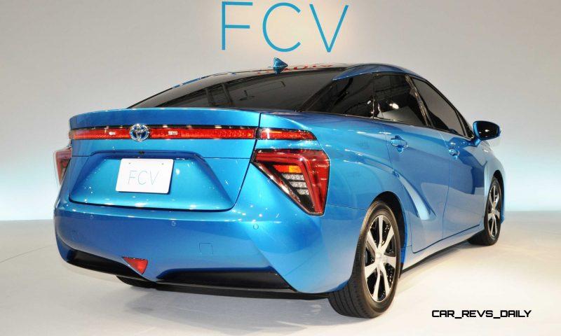 2016 Toyota FCV Production Car 26