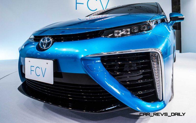 2016 Toyota FCV Production Car 32