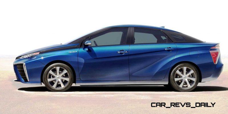 2016 Toyota FCV Production Car 5