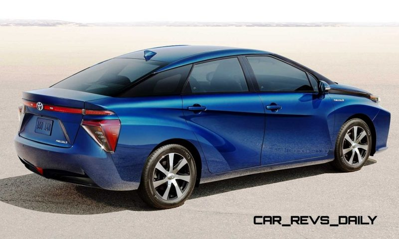 2016 Toyota FCV Production Car 6