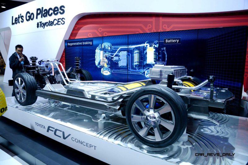 2016 Toyota FCV Production Car 7