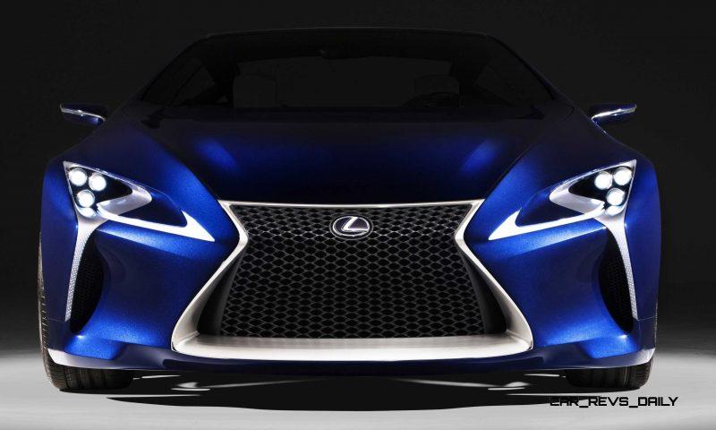 Concept Flashback - Lexus LF-LC in 77 High-Res Photos - Future LF-B 1