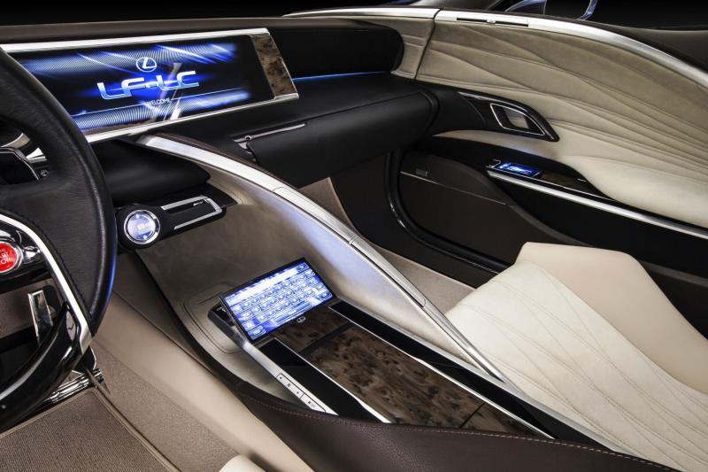 Concept Flashback - Lexus LF-LC in 77 High-Res Photos - Future LF-B 11