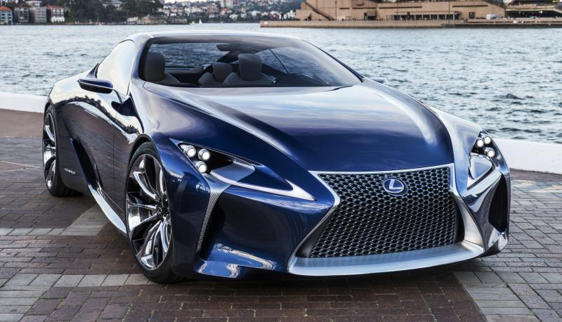 Concept Flashback - Lexus LF-LC in 77 High-Res Photos - Future LF-B 12
