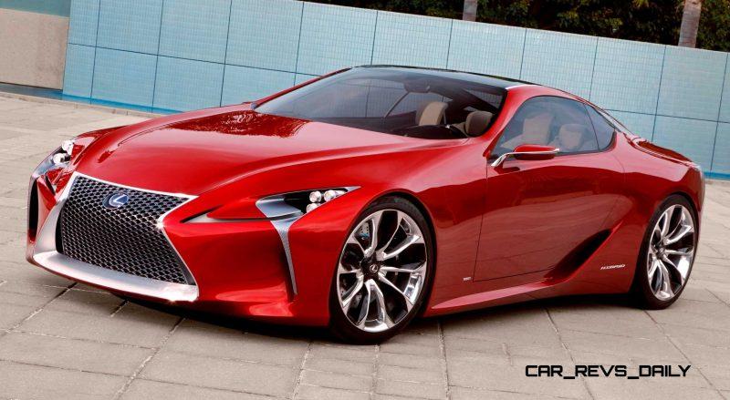 Concept Flashback - Lexus LF-LC in 77 High-Res Photos - Future LF-B 36