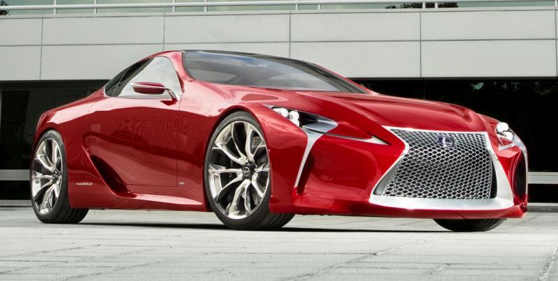 Concept Flashback - Lexus LF-LC in 77 High-Res Photos - Future LF-B 38