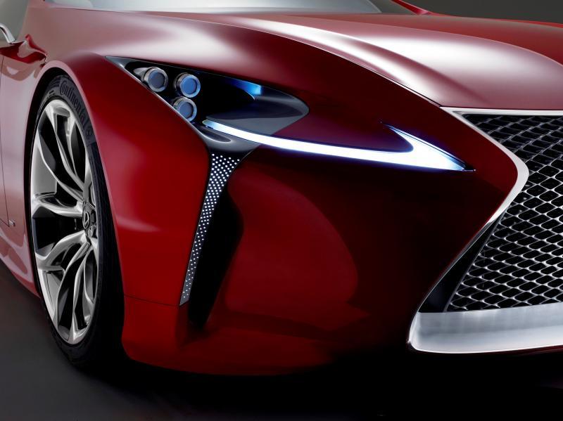 Concept Flashback - Lexus LF-LC in 77 High-Res Photos - Future LF-B 59