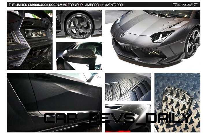 MANSORY Carbonado Aventador 15