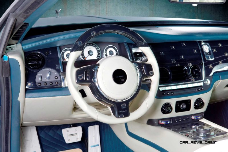 Mansory Bentley Flying Spur versus Mansory Rolls-Royce Wraith 2