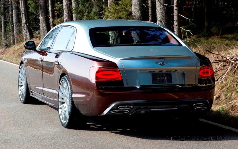 Mansory Bentley Flying Spur versus Mansory Rolls-Royce Wraith 7