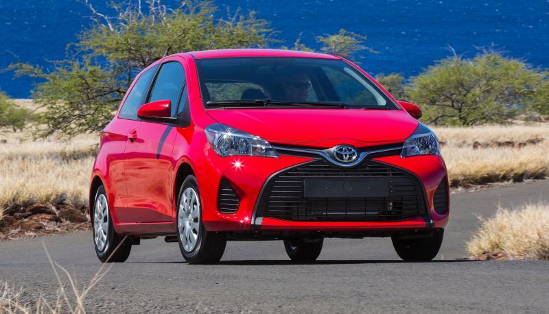 Road Test Review - 2015 Toyota Yaris SE 5-Door 10