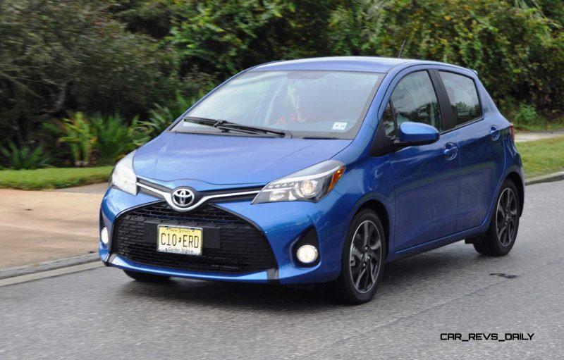 Road Test Review - 2015 Toyota Yaris SE 5-Door 38