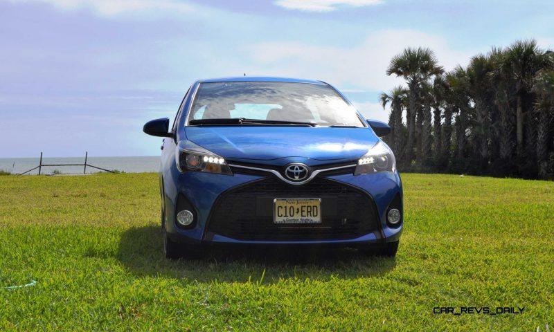 Road Test Review - 2015 Toyota Yaris SE 5-Door 45