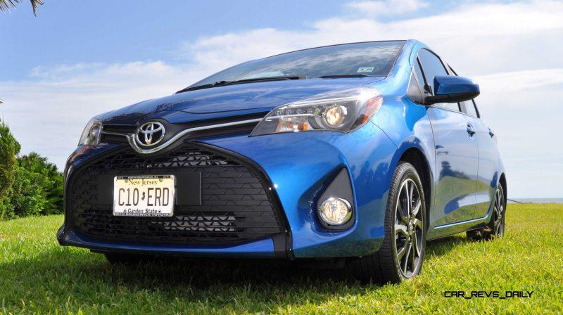 Road Test Review - 2015 Toyota Yaris SE 5-Door 73