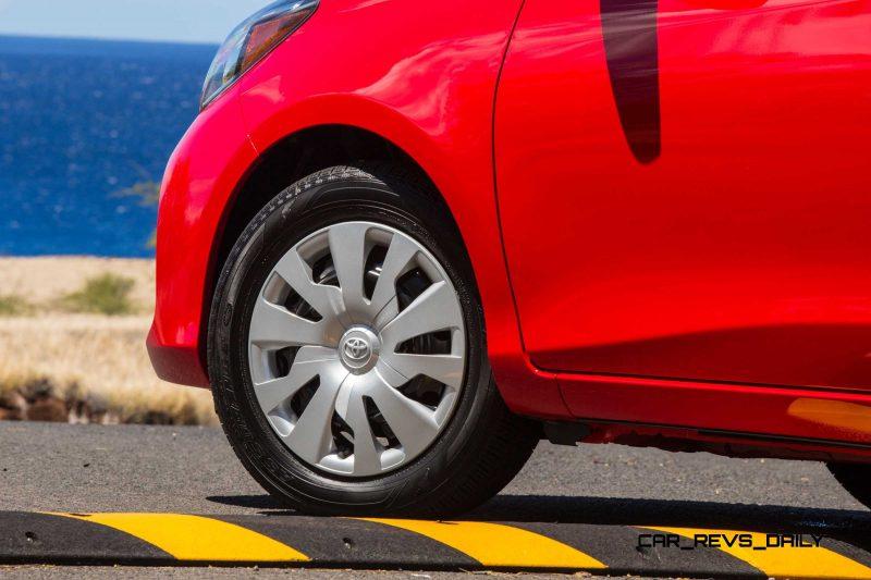 Road Test Review - 2015 Toyota Yaris SE 5-Door 8