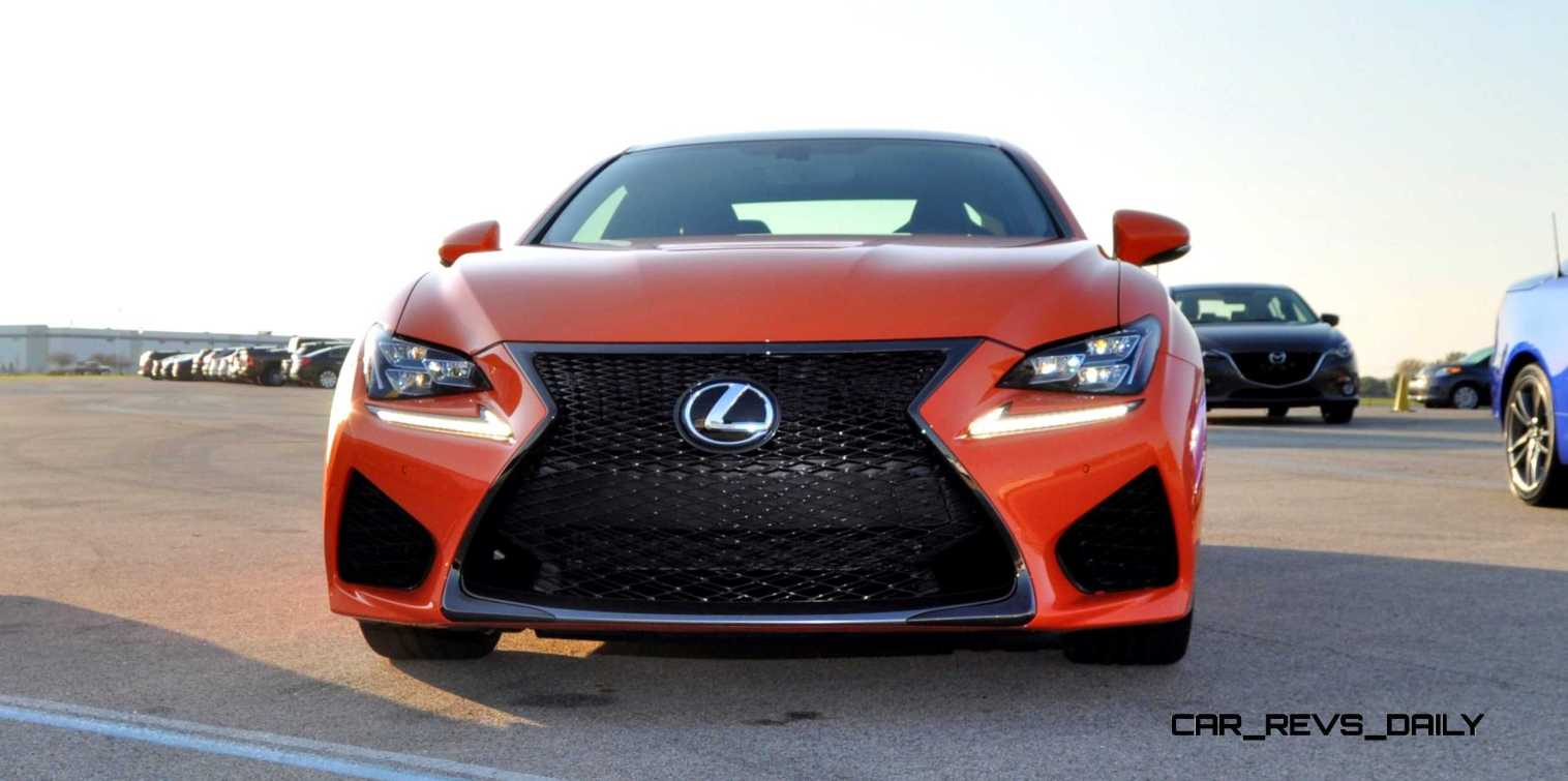 Track Drive Review - 2015 Lexus RCF Is Roaring Delight Around Autobahn Country Club 13