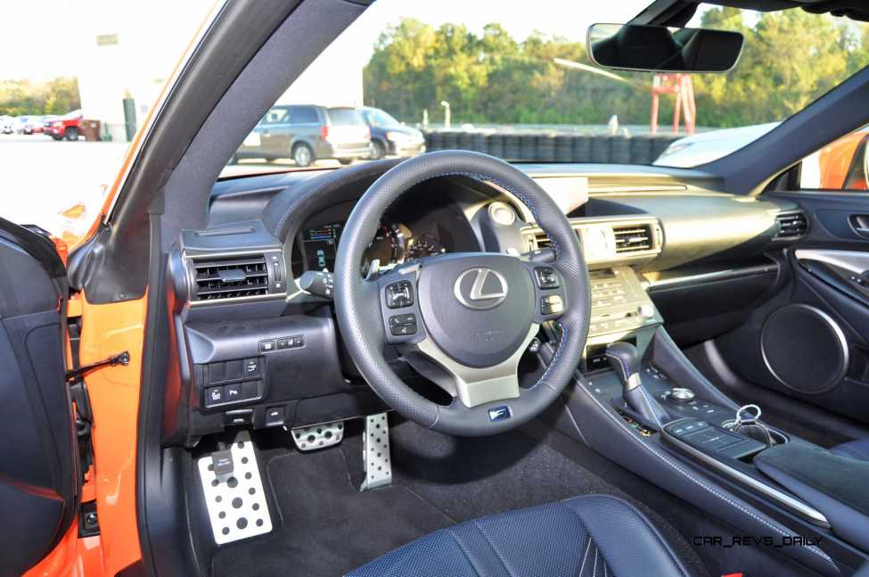 Track Drive Review - 2015 Lexus RCF Is Roaring Delight Around Autobahn Country Club 14