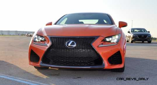 Track Drive Review - 2015 Lexus RCF Is Roaring Delight Around Autobahn Country Club 20