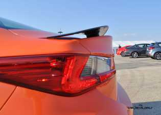 Track Drive Review - 2015 Lexus RCF Is Roaring Delight Around Autobahn Country Club 32