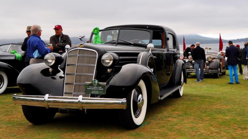 1935 Cadillac 370D Fleetwood V12 Town Cabriolet 10