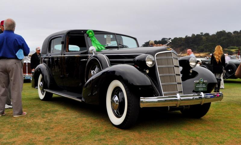 1935 Cadillac 370D Fleetwood V12 Town Cabriolet 19