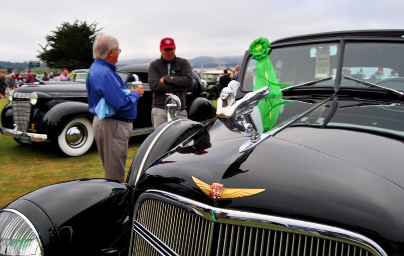 1935 Cadillac 370D Fleetwood V12 Town Cabriolet 29