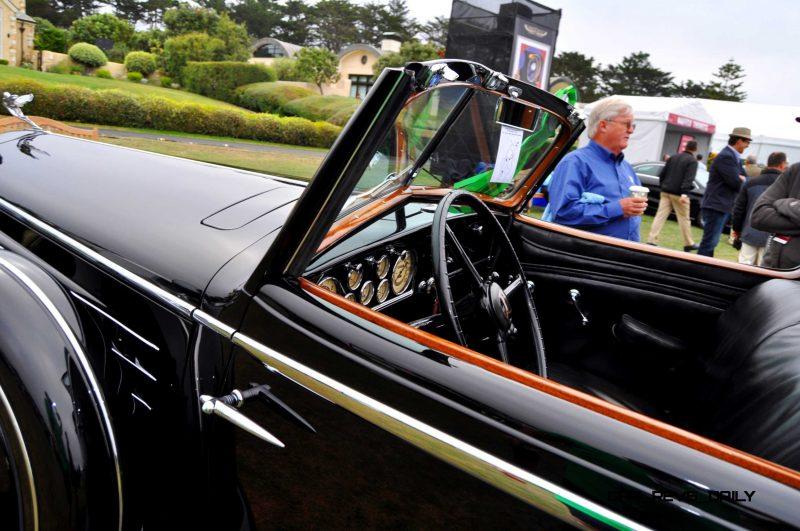 1935 Cadillac 370D Fleetwood V12 Town Cabriolet 31