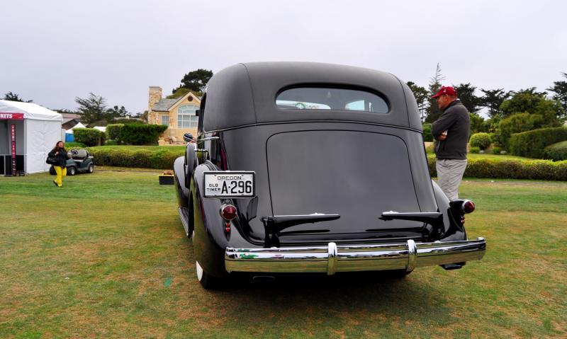 1935 Cadillac 370D Fleetwood V12 Town Cabriolet 35