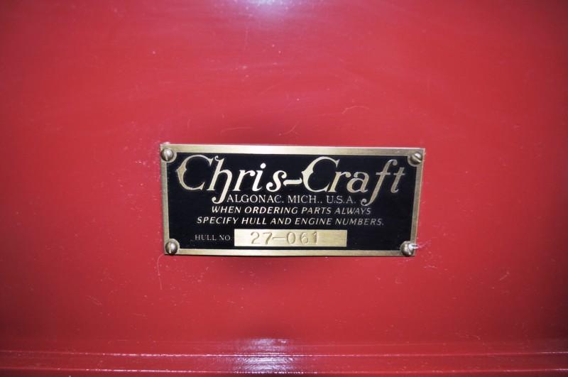 1941 Chris-Craft 27' Runaway Jane Barrel Back 18