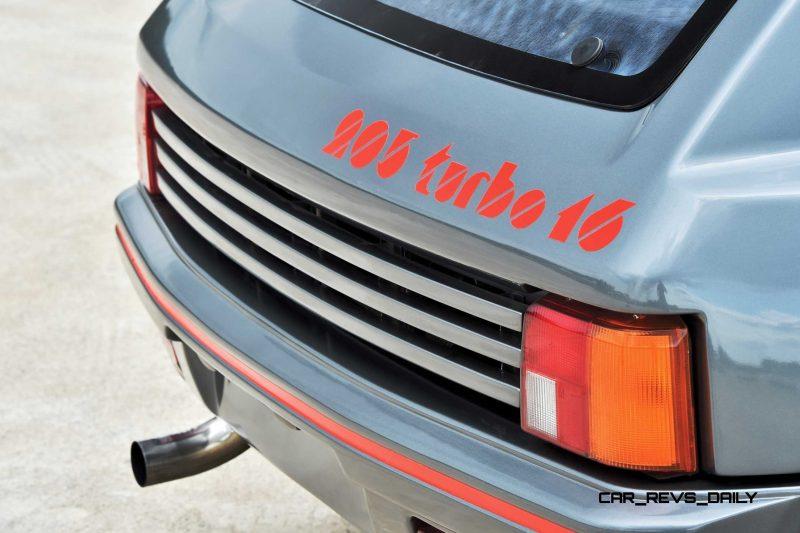 1984 Peugeot 205 Turbo 16 7