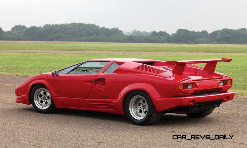 1990 Lamborghini Countach 25th Anniversary Edition 2