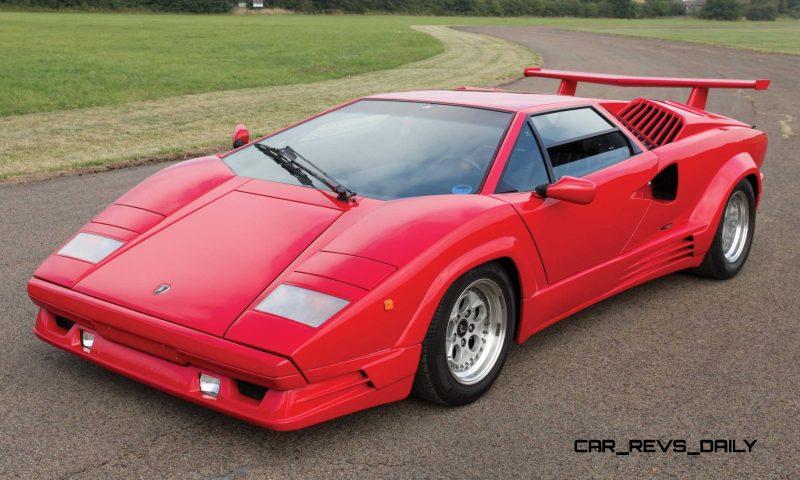 1990 Lamborghini Countach 25th Anniversary Edition 24