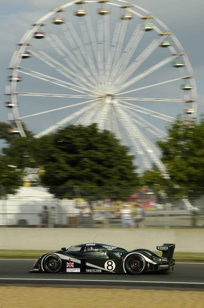 2001 Bentley Speed 8 LMP1 12