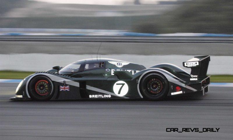 2001 Bentley Speed 8 LMP1 5