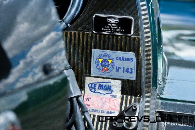 2001 Bentley Speed 8 LMP1 50