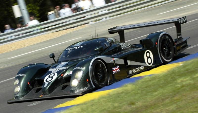 2001 Bentley Speed 8 LMP1 9