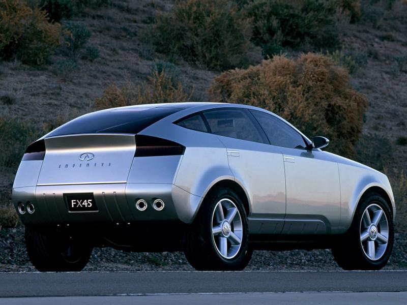 2001 INFINITI FX45 Concept 12