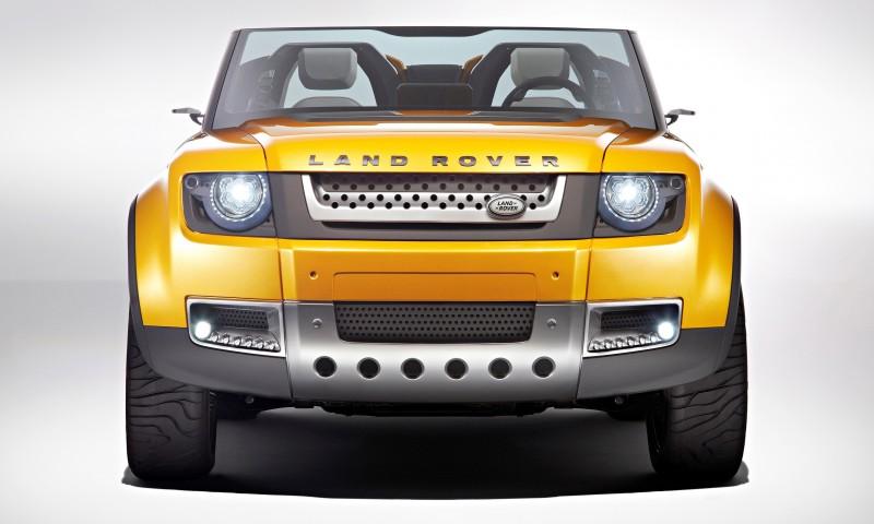 2011 Land Rover DC100 Sport 45