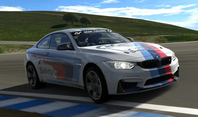 2015 BMW M4 Safety Car 2