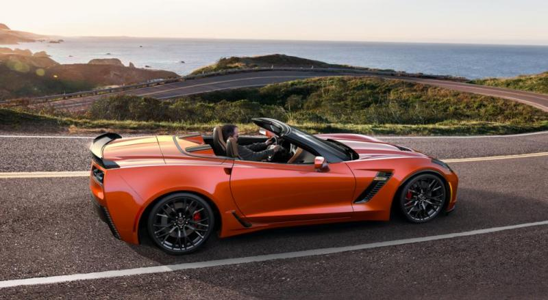 2015 CHevrolet Corvette Z06 Convertible -  Visualizer of All COLORS and WHEELS 13
