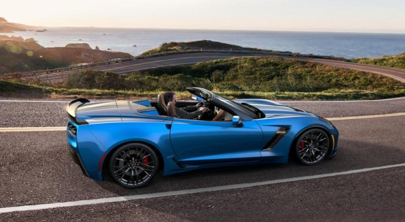 2015 CHevrolet Corvette Z06 Convertible -  Visualizer of All COLORS and WHEELS 17