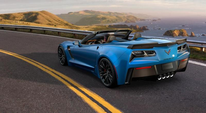 2015 CHevrolet Corvette Z06 Convertible -  Visualizer of All COLORS and WHEELS 19