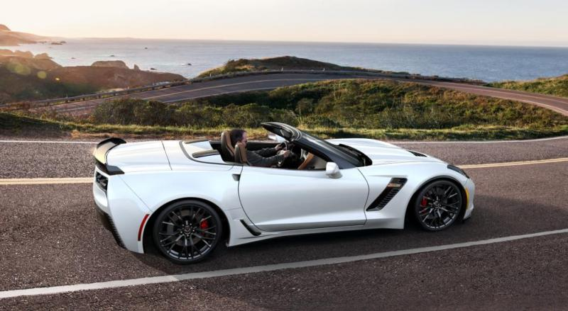 2015 CHevrolet Corvette Z06 Convertible -  Visualizer of All COLORS and WHEELS 33