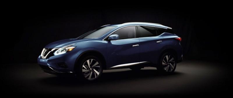 2015 Nissan Murano Arctic Blue Metallic 1