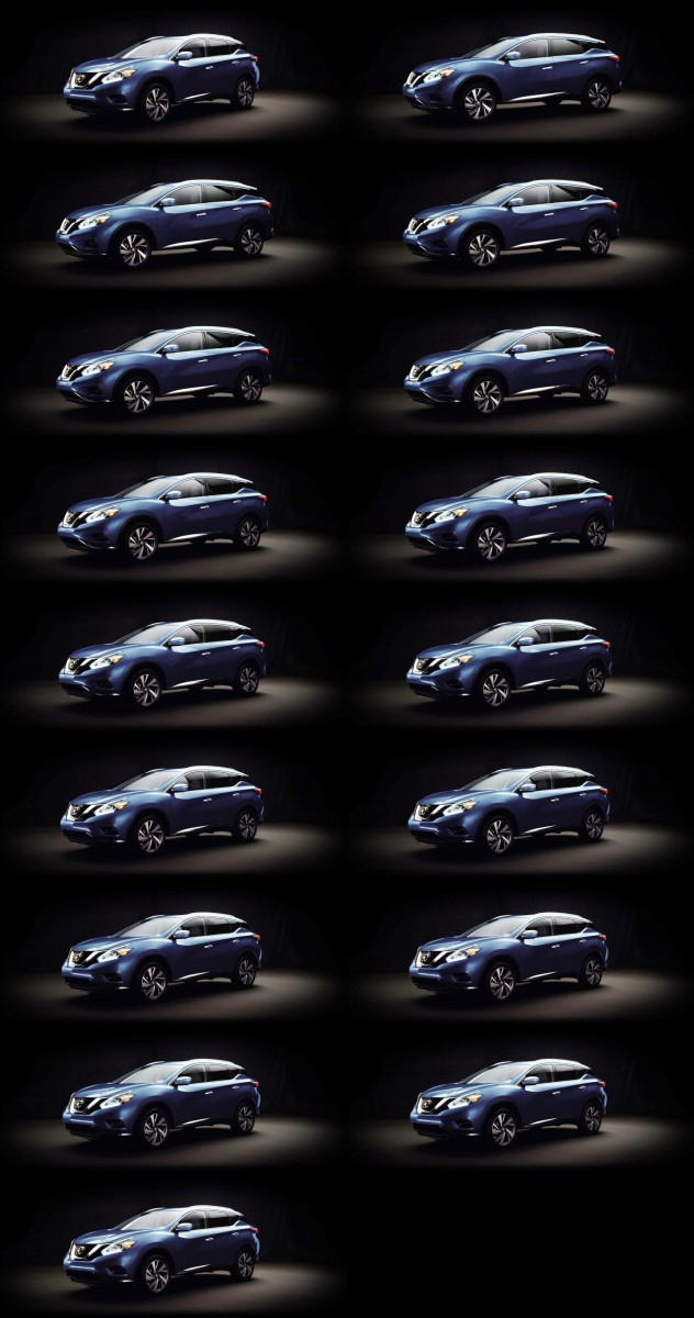 2015 Nissan Murano Colors Guide 7