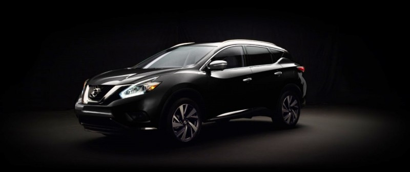 2015 Nissan Murano Magnetic Black 7