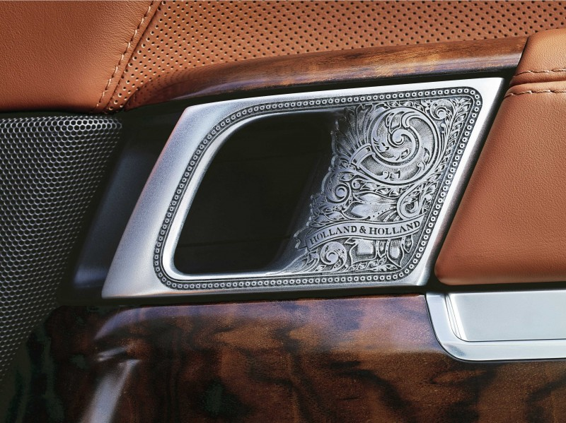 2015 Range Rover Holland & Holland Edition Is Blue-Blooded Delicacy 4
