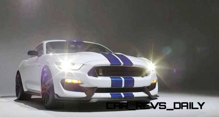 2016 SHELBY GT350 Mustang White 110