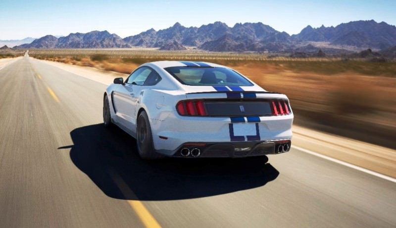 2016 SHELBY GT350 Mustang White 133