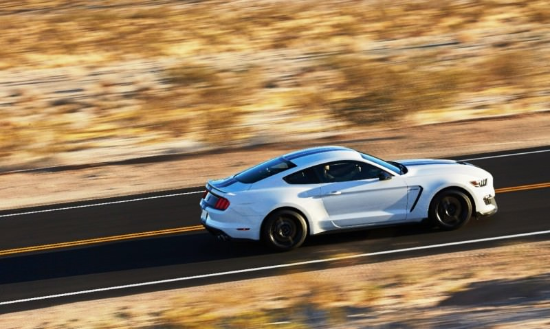 2016 SHELBY GT350 Mustang White 139
